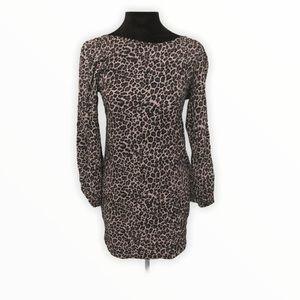 Audrey Animal Print Dress size small